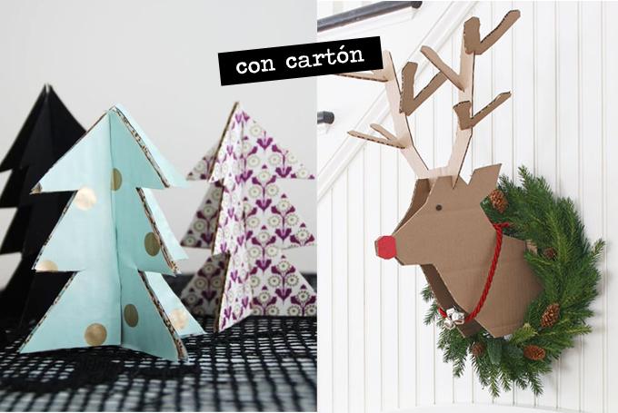 Decoraci n de navidad for Arbol de navidad con cajas de carton