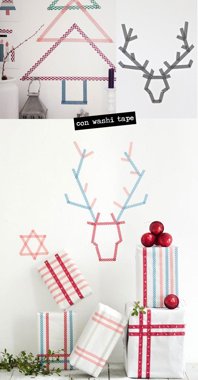 Decoración Navidad - Washi Tape