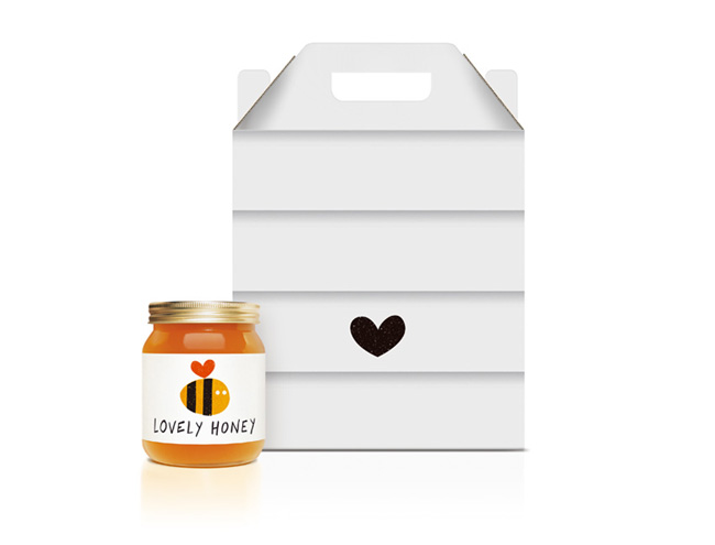 Packaging Miel Lovely Honey