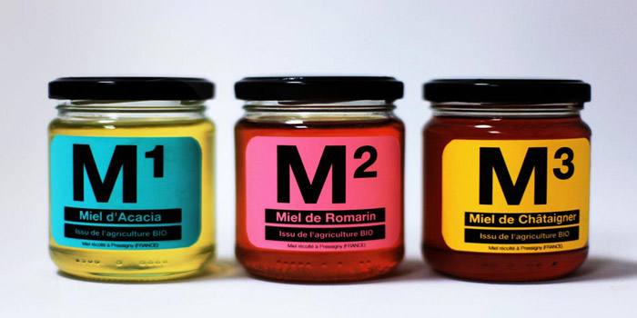 Packaging de miel
