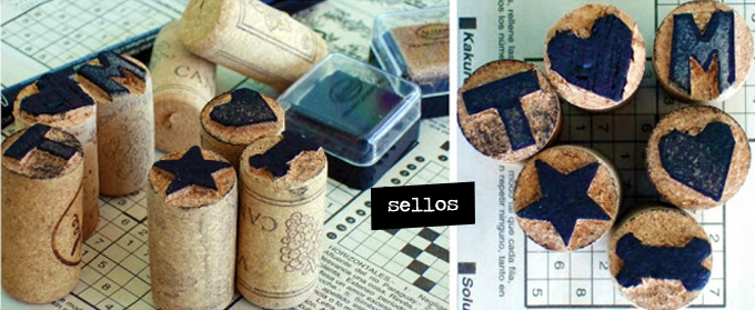 sellos corcho