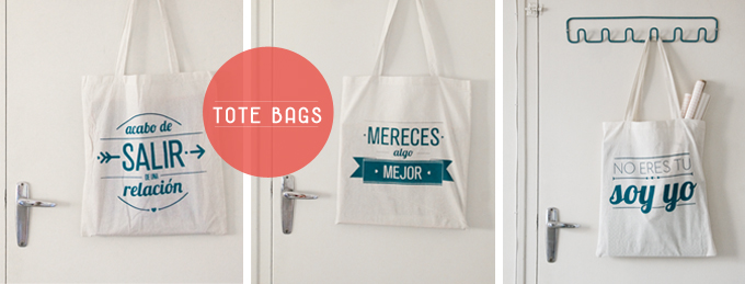 tote bags design with a smile