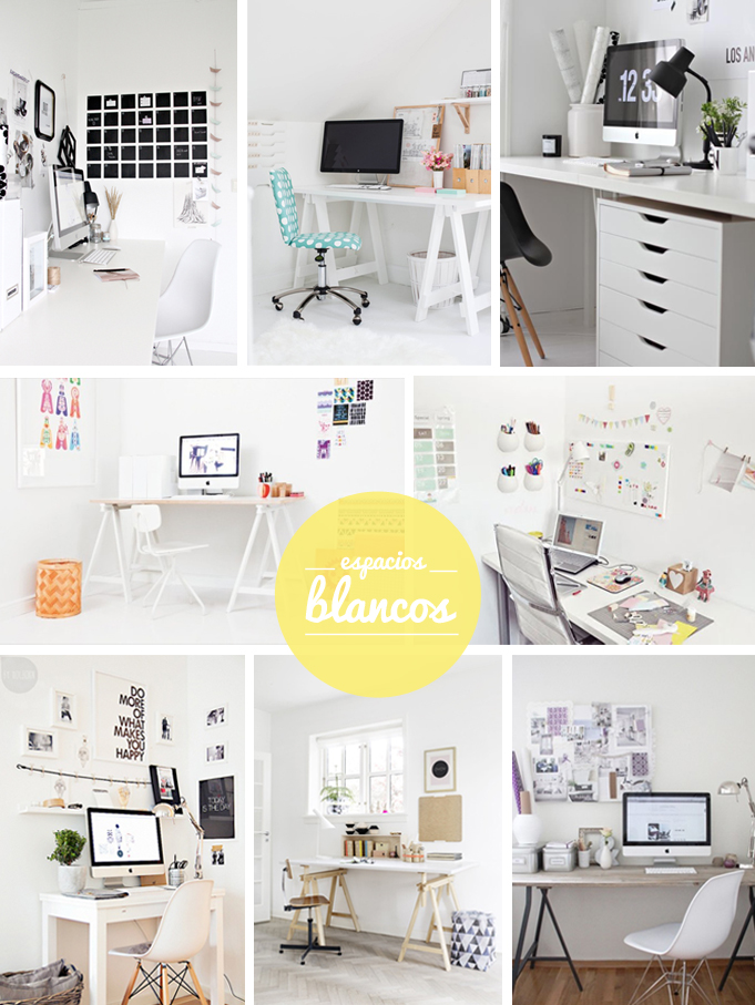 workspaces blancos