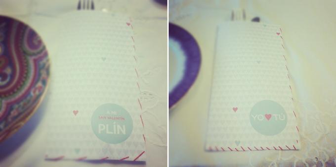 imprimibles cubiertos san valentin