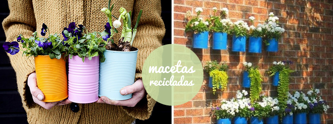 diy macetas recicladas