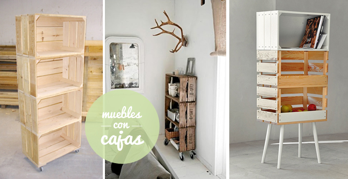 Diy para amueblar y decorar tu casa reciclando - Decorar reciclando muebles ...