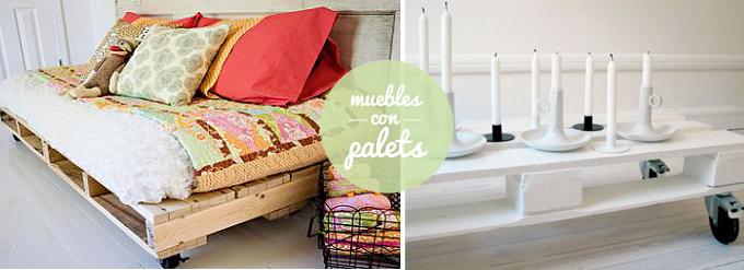 Diy muebles con palets bonitismos - Decorar reciclando muebles ...