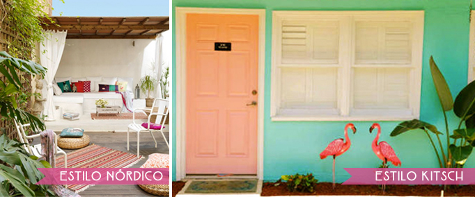 exterior estilo nordico vs kitsch