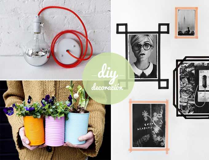 Ideas Decoracion Diy ~ Diy para amueblar y decorar tu casa reciclando