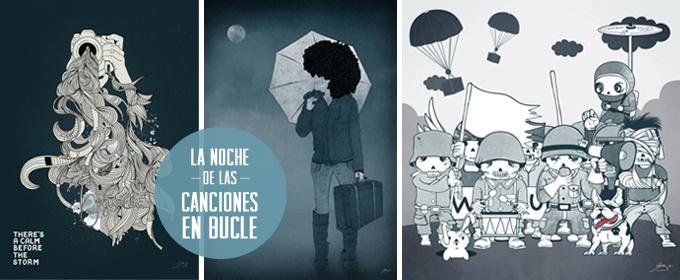 la noche de las canciones en bucle - Agu Mendez