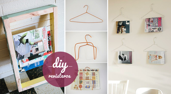 Diy revisteros bonitismos for Ideas para tu casa decoracion