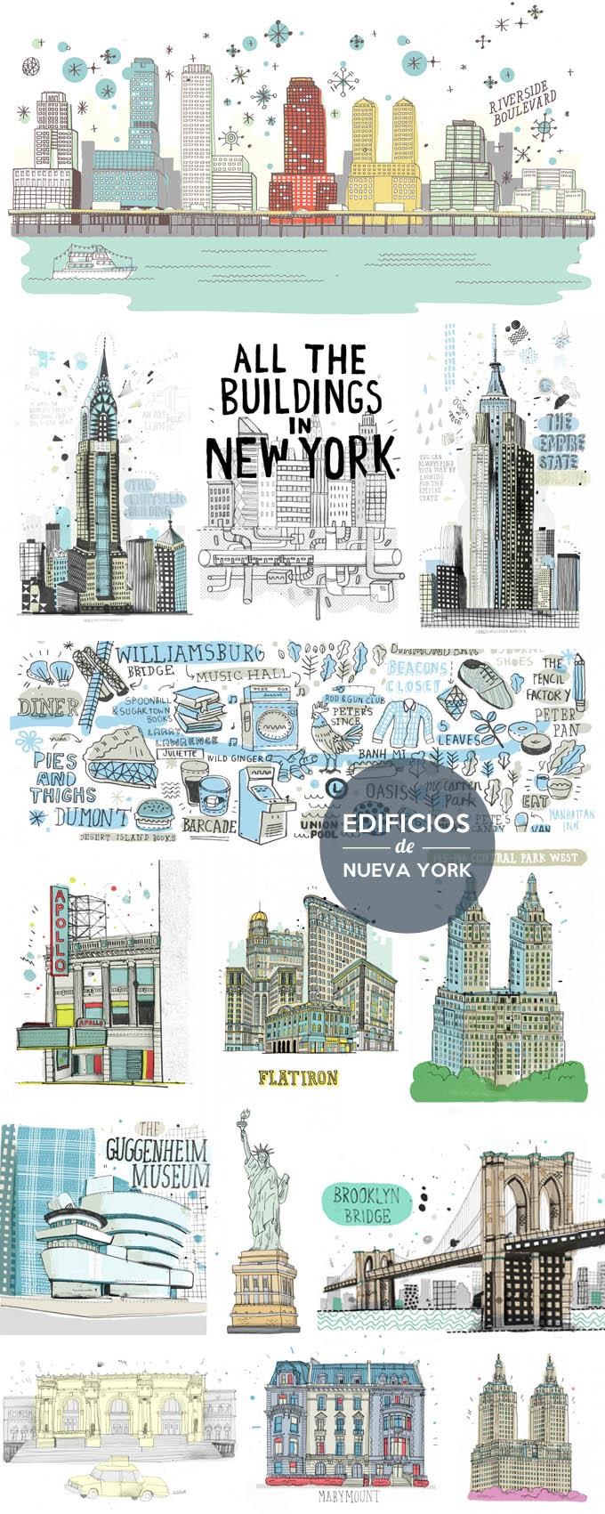 edificios nueva york