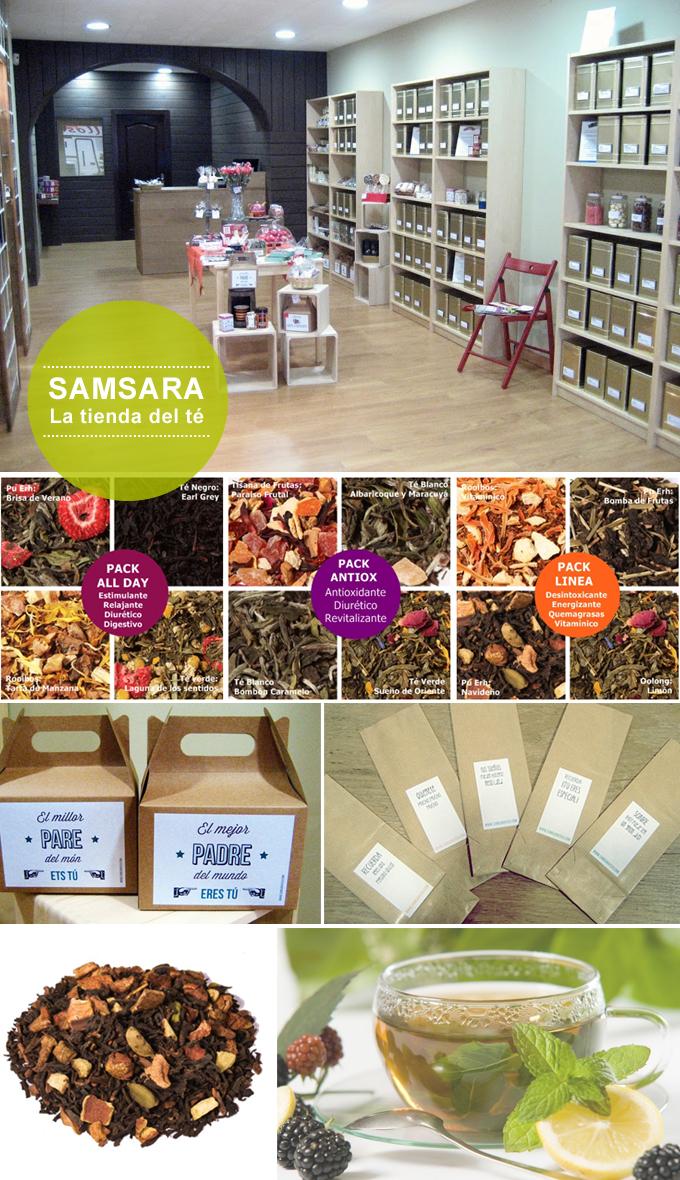 samsara la tienda del té
