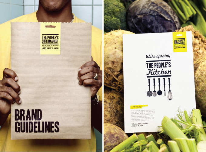 the peoples supermarket - diseño