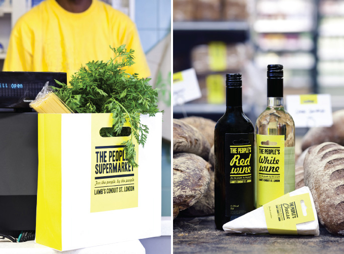 the peoples supermarket - productos