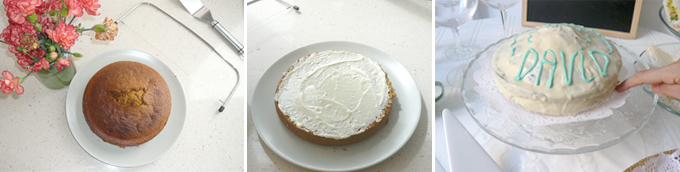 carrot cake con mascarpone