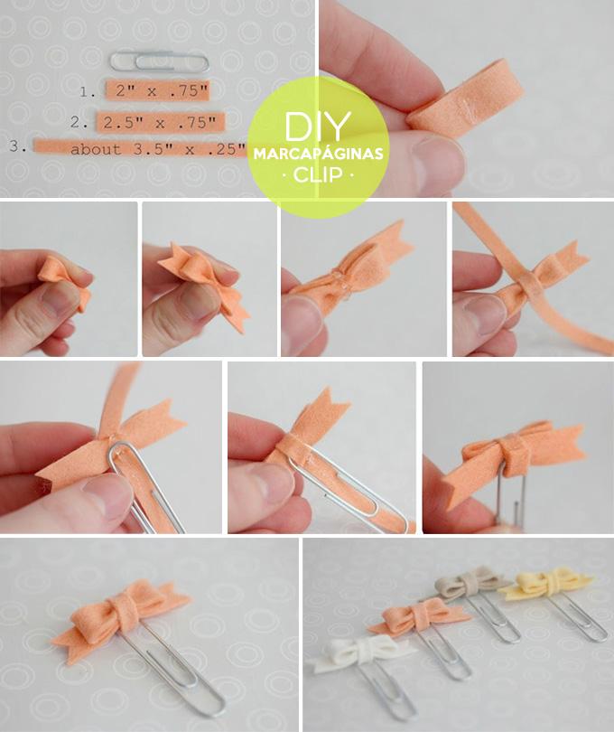 diy marcapaginas clip