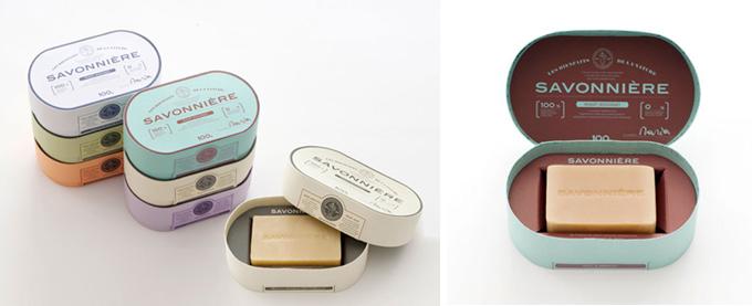 packaging savonniere