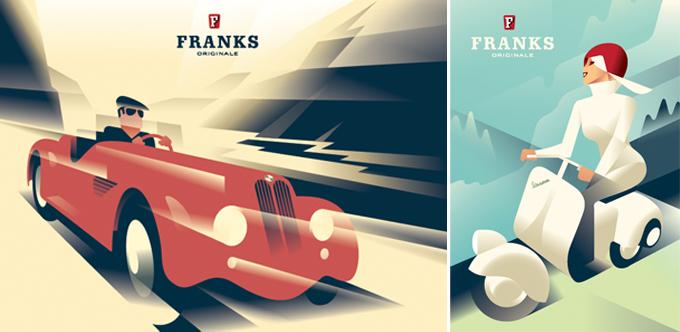 poster Franks - Mads Berg