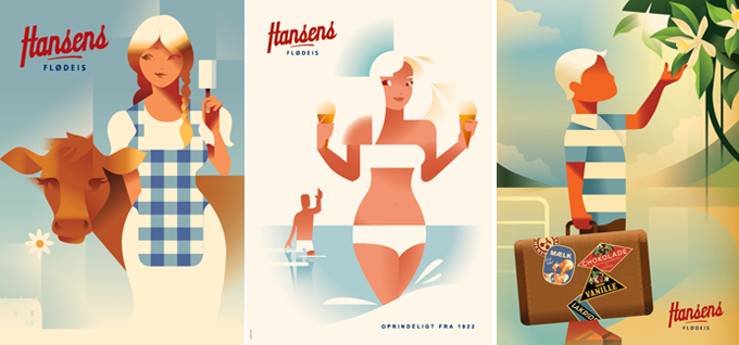 poster Hanses - Mads Berg