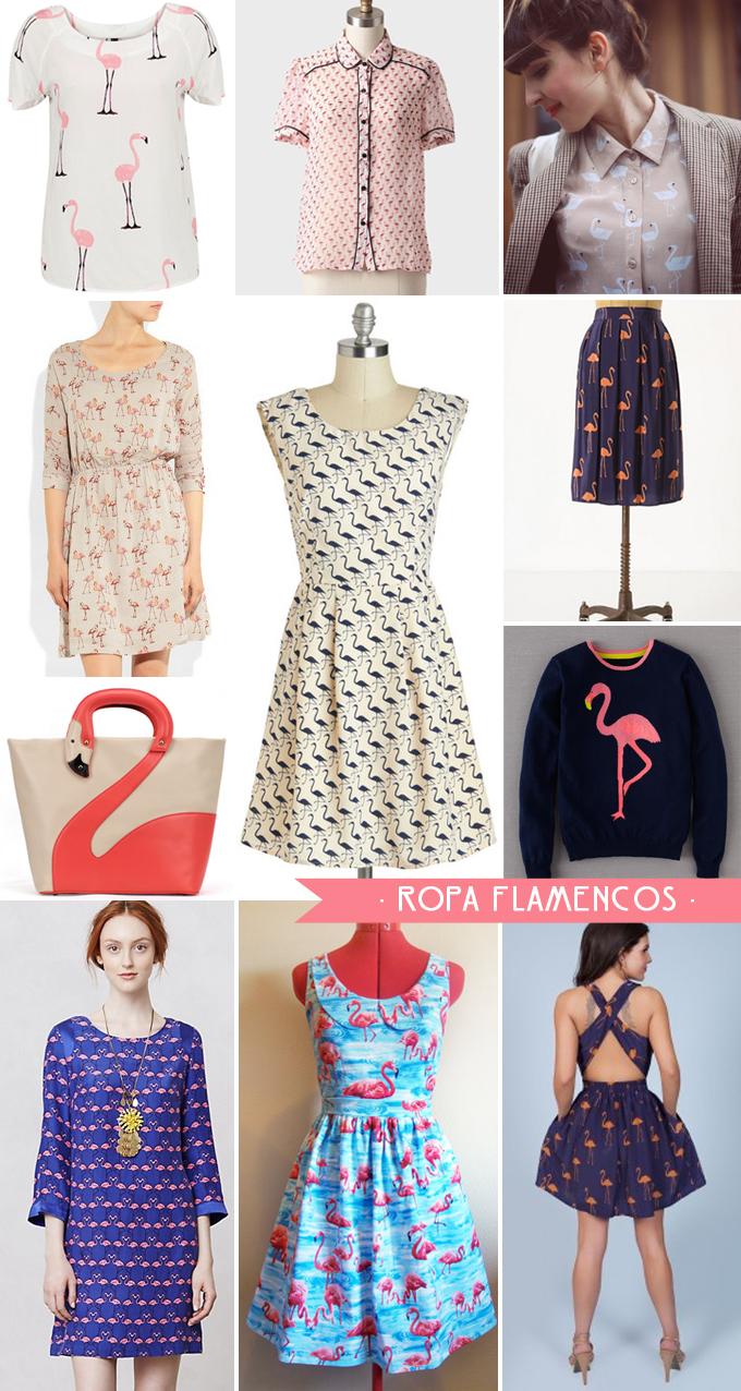 ropa flamencos