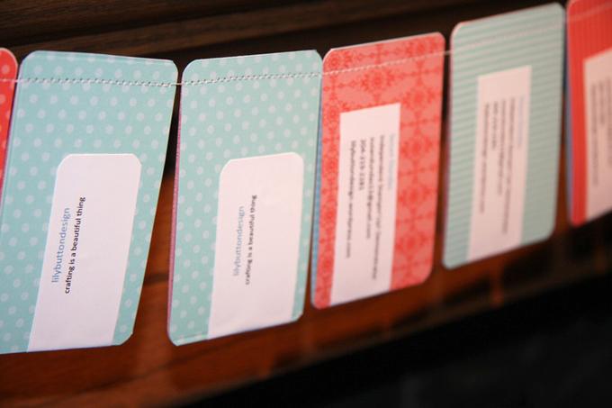 tarjetas de visita handmade - cosidaII