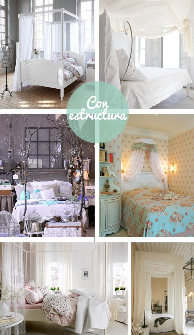 camas dosel estructura