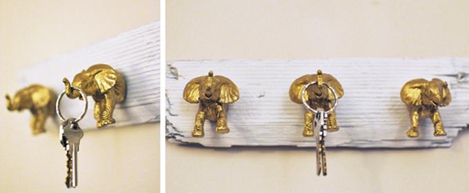 colgador de llaves original