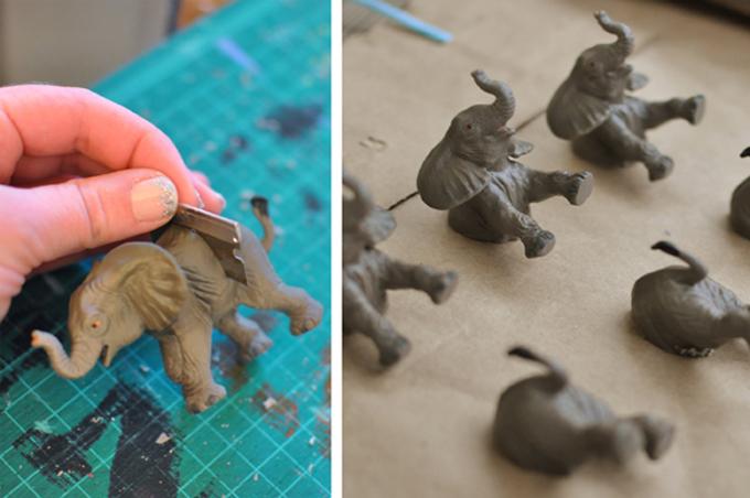 cortar elefantes