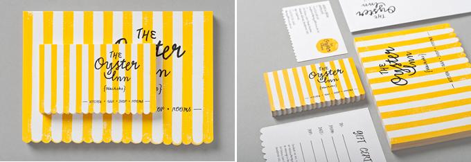 tarjetas visita - the oyster inn