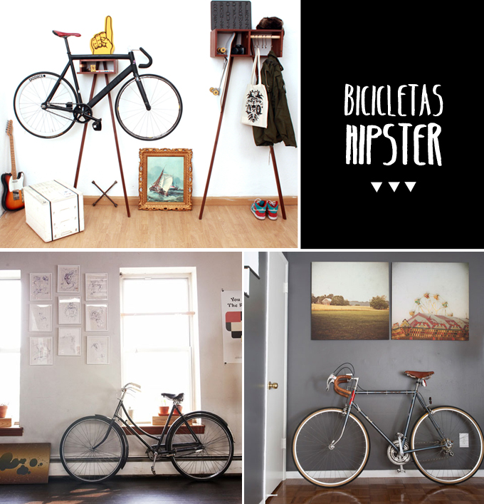 decoración bicicletas hipster