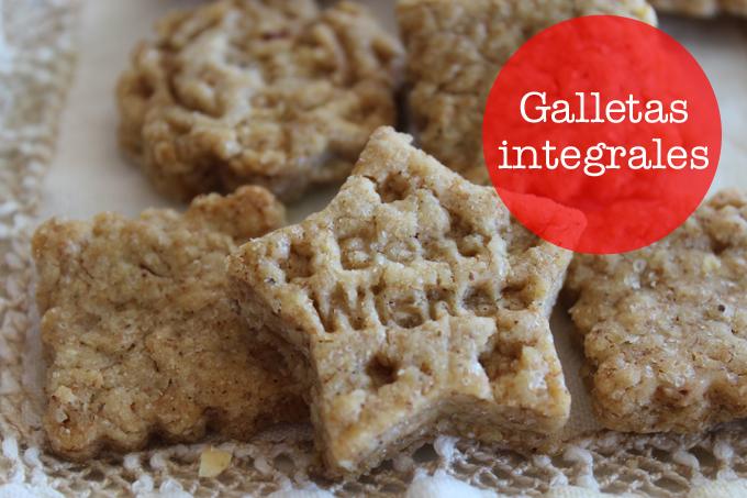 galletas integrales receta