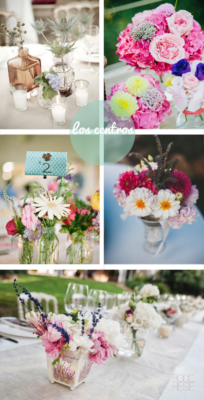 inspiracion centros bodas campo