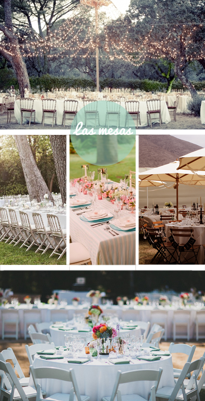 inspiracion mesas boda campo