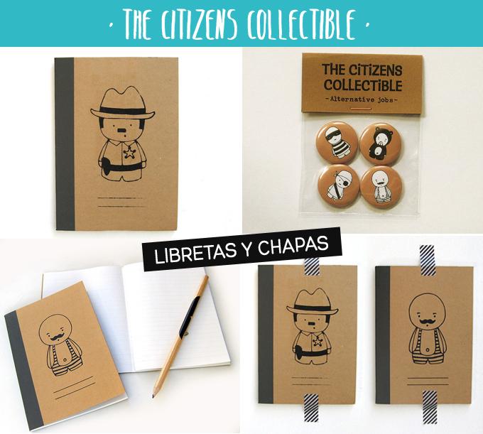 libretas y chapas citizens