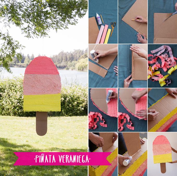 piñata veraniega
