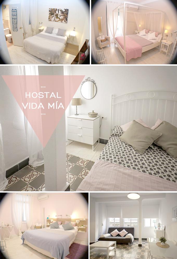 hostal vidamia Málaga
