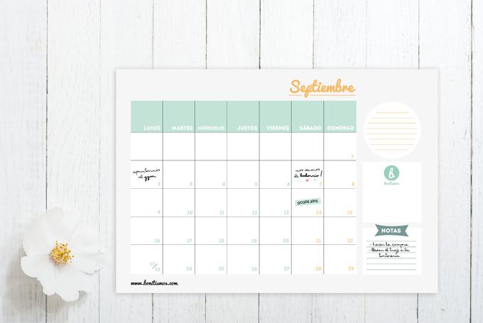 calendario septiembre bonitista