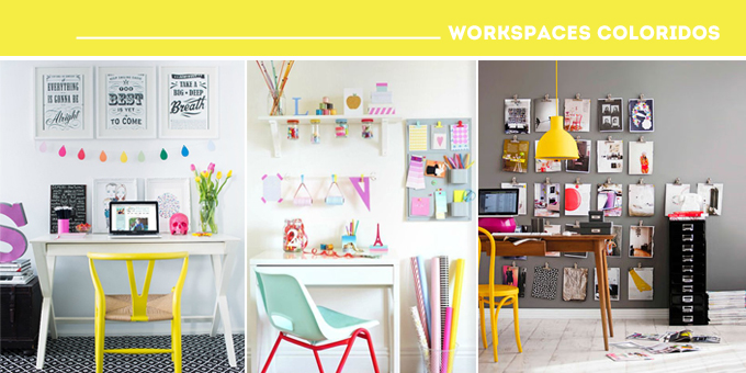 workspaces coloridos