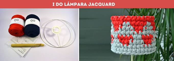 I DO LAMPARA JACQUARD