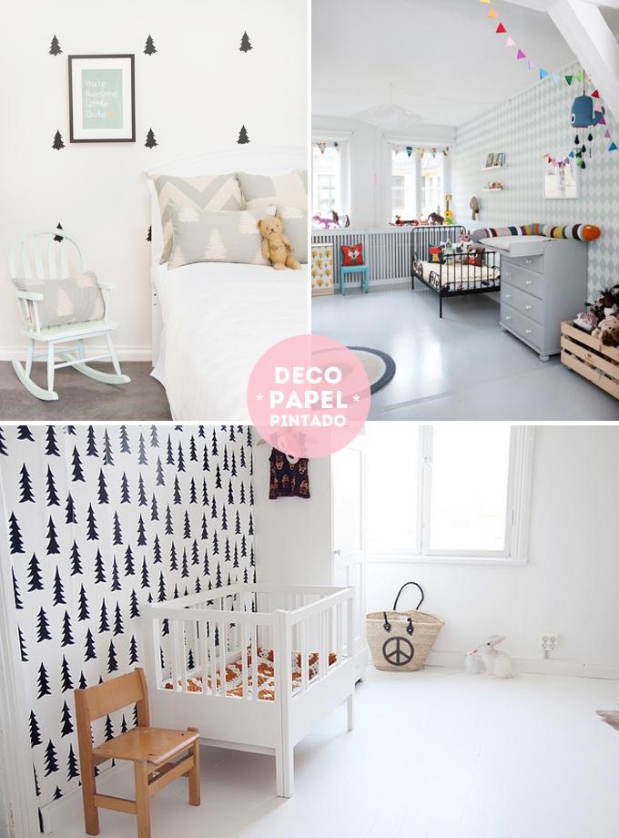 Decoracion habitacion bebe papel pintado papel pintado - Papel pintado decoracion ...