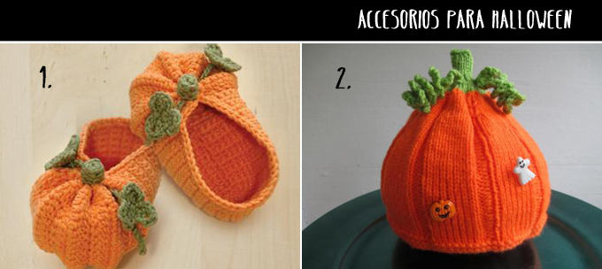 accesorios halloween crochet