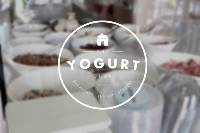 logo - the yogurt shop