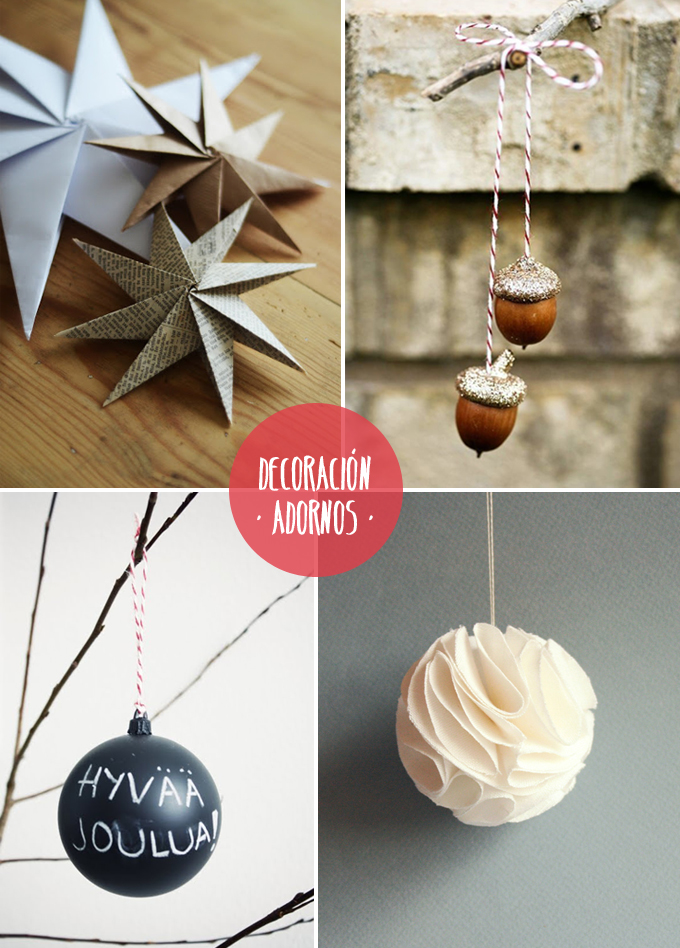Diy decoraci n navide a for Decoracion de navidad barata