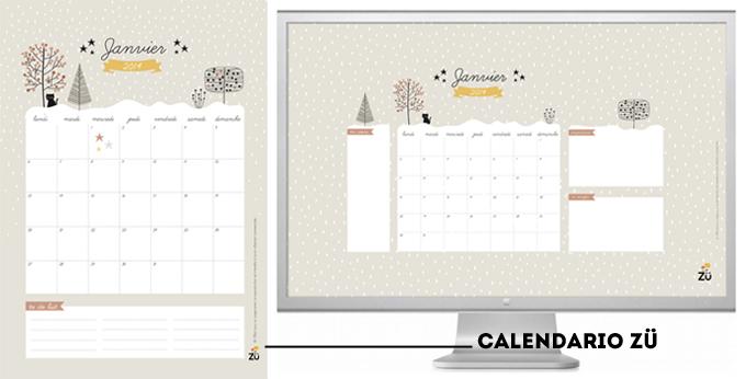calendario 2014 ZÜ