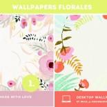fondos escritorio florales