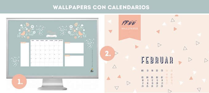 wallpapers calendarios