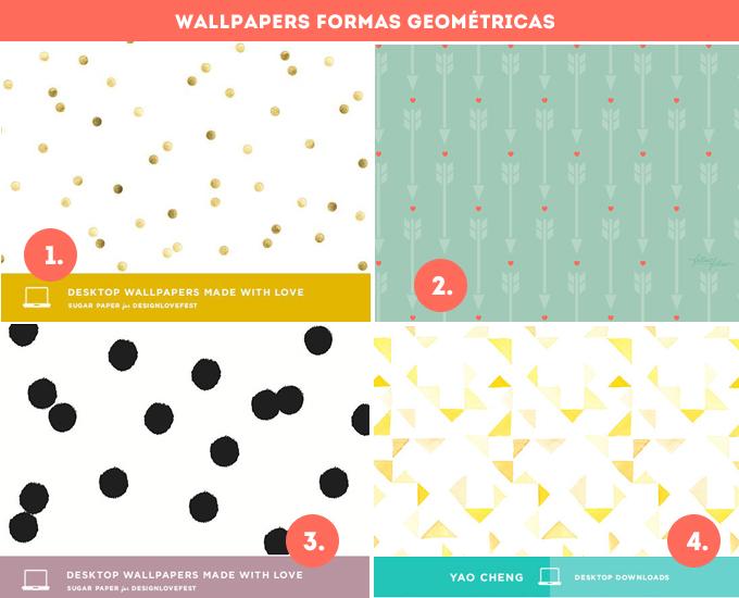 wallpapers formas geometricas