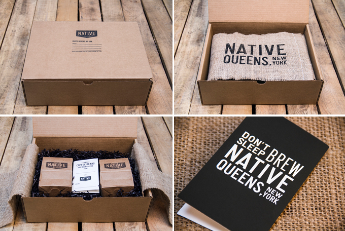 packaging craft Native Coffee