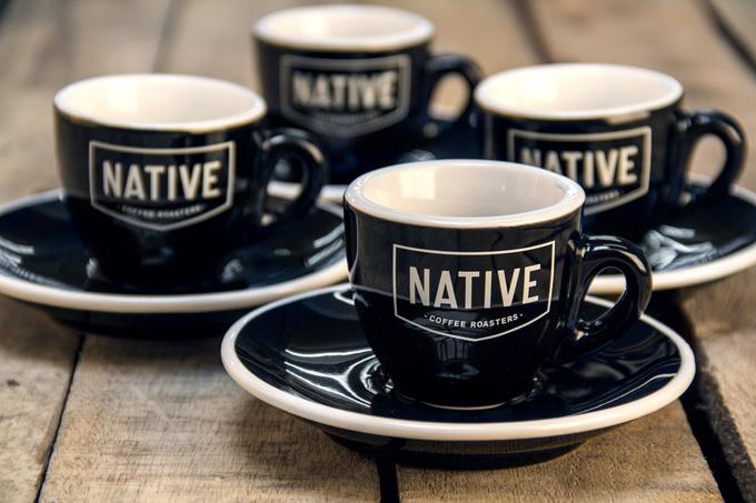 tazas café Native